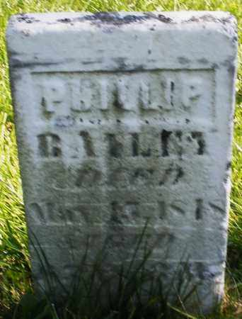 BAILEY, PHILLIP - Madison County, Ohio | PHILLIP BAILEY - Ohio Gravestone Photos