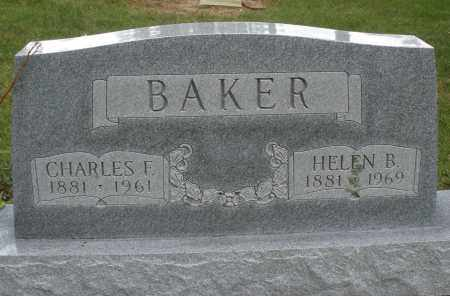 BAKER, HELEN B. - Madison County, Ohio | HELEN B. BAKER - Ohio Gravestone Photos