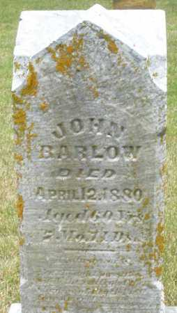 BARLOW, JOHN - Madison County, Ohio | JOHN BARLOW - Ohio Gravestone Photos