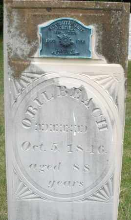 BEACH, OBIL - Madison County, Ohio | OBIL BEACH - Ohio Gravestone Photos