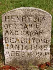 BEACHY, HENRY - Madison County, Ohio | HENRY BEACHY - Ohio Gravestone Photos