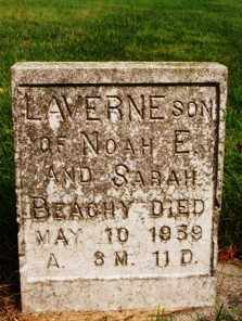 BEACHY, LAVERNE - Madison County, Ohio | LAVERNE BEACHY - Ohio Gravestone Photos