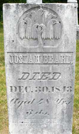 BEARD, JOSIAH - Madison County, Ohio | JOSIAH BEARD - Ohio Gravestone Photos