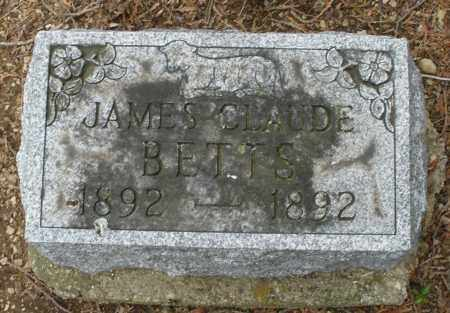 BETTS, JAMES CLAUDE - Madison County, Ohio | JAMES CLAUDE BETTS - Ohio Gravestone Photos