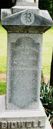 BIDWELL, LINCOLN - Madison County, Ohio | LINCOLN BIDWELL - Ohio Gravestone Photos