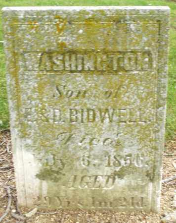 BIDWELL, WASHINGTON - Madison County, Ohio | WASHINGTON BIDWELL - Ohio Gravestone Photos