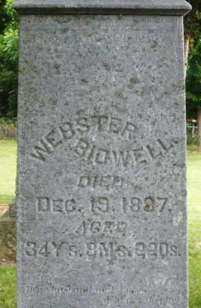 BIDWELL, WEBSTER - Madison County, Ohio | WEBSTER BIDWELL - Ohio Gravestone Photos