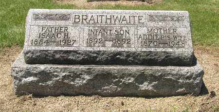 BRAITHWAITE, ADDIE - Madison County, Ohio | ADDIE BRAITHWAITE - Ohio Gravestone Photos