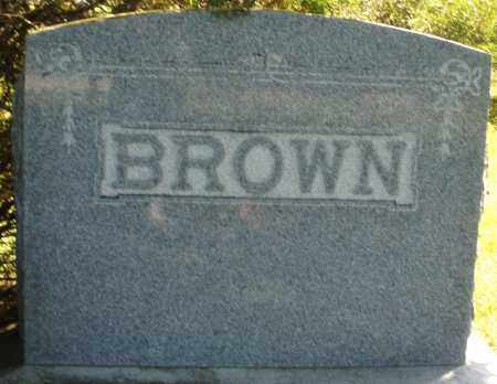 BROWN, MONUMENT - Madison County, Ohio | MONUMENT BROWN - Ohio Gravestone Photos
