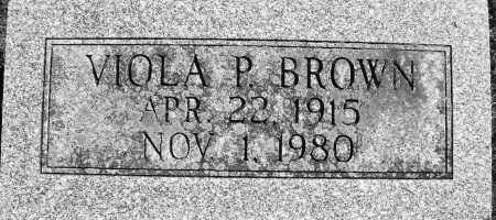 BROWN, VIOLA P. - Madison County, Ohio | VIOLA P. BROWN - Ohio Gravestone Photos