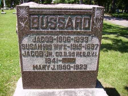 WOLFORD BUSSARD, SUSAN - Madison County, Ohio | SUSAN WOLFORD BUSSARD - Ohio Gravestone Photos