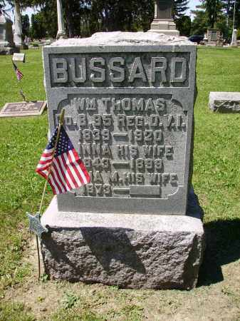 MYERS BUSSARD, DANEY - Madison County, Ohio | DANEY MYERS BUSSARD - Ohio Gravestone Photos