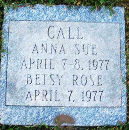 CALL, ANNA SUE - Madison County, Ohio | ANNA SUE CALL - Ohio Gravestone Photos