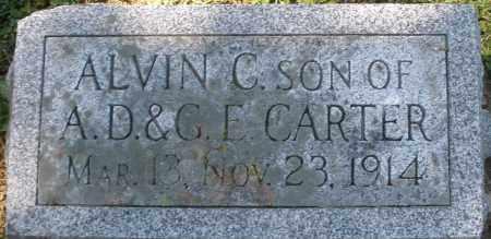CARTER, ALVIN C. - Madison County, Ohio | ALVIN C. CARTER - Ohio Gravestone Photos