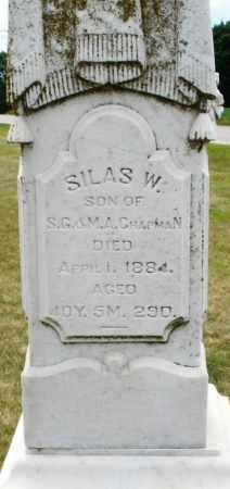 CHAPMAN, SILAS W. - Madison County, Ohio | SILAS W. CHAPMAN - Ohio Gravestone Photos