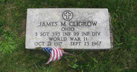 CLIGROW, JAMES MARTIN - Madison County, Ohio | JAMES MARTIN CLIGROW - Ohio Gravestone Photos