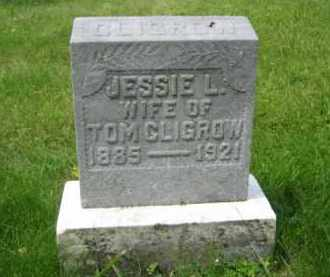 CLIGROW, JESSIE LELIA - Madison County, Ohio | JESSIE LELIA CLIGROW - Ohio Gravestone Photos