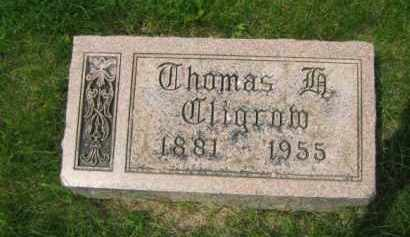 CLIGROW, THOMAS F. - Madison County, Ohio | THOMAS F. CLIGROW - Ohio Gravestone Photos