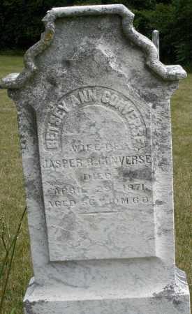 CONVERSE, BETSEY ANN - Madison County, Ohio | BETSEY ANN CONVERSE - Ohio Gravestone Photos