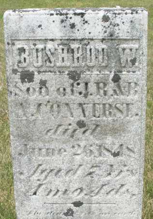 CONVERSE, BUSHROD W. - Madison County, Ohio | BUSHROD W. CONVERSE - Ohio Gravestone Photos