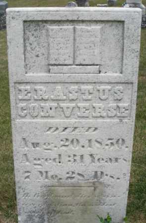CONVERSE, ERASTUS - Madison County, Ohio | ERASTUS CONVERSE - Ohio Gravestone Photos