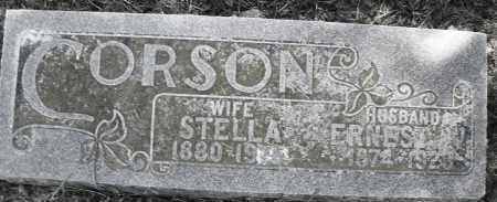 CORSON, ERNEST - Madison County, Ohio | ERNEST CORSON - Ohio Gravestone Photos