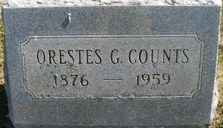 COUNTS, ORESTES G. - Madison County, Ohio | ORESTES G. COUNTS - Ohio Gravestone Photos