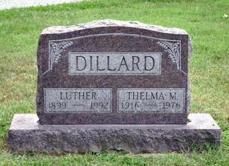 DILLARD, THELMA - Madison County, Ohio | THELMA DILLARD - Ohio Gravestone Photos