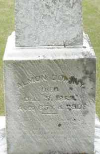 DOMINY, ALMON - Madison County, Ohio   ALMON DOMINY - Ohio Gravestone Photos