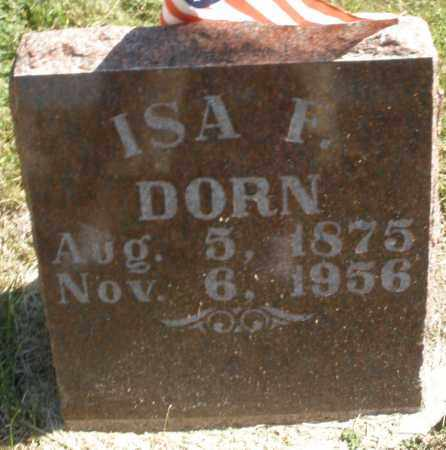DORN, ISA F. - Madison County, Ohio | ISA F. DORN - Ohio Gravestone Photos