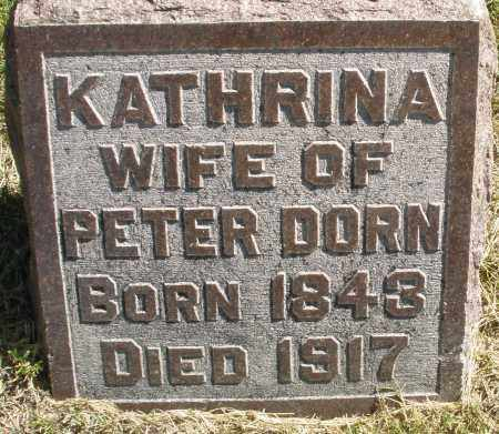 DORN, KATHRINA - Madison County, Ohio | KATHRINA DORN - Ohio Gravestone Photos
