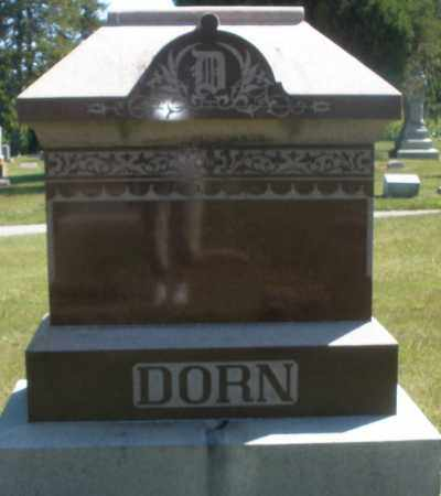 DORN, MONUMENT - Madison County, Ohio | MONUMENT DORN - Ohio Gravestone Photos