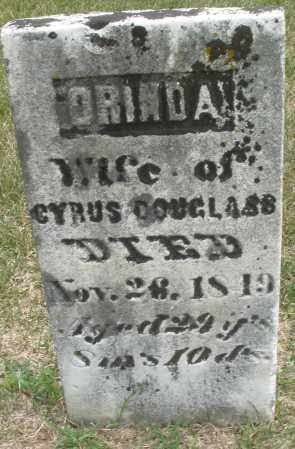 DOUGLASS, ORINDA - Madison County, Ohio | ORINDA DOUGLASS - Ohio Gravestone Photos