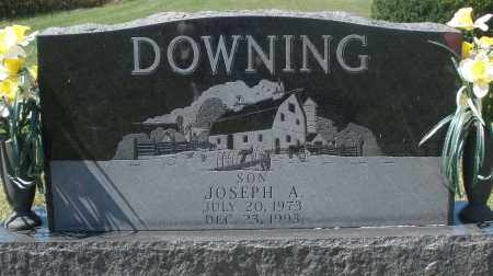 DOWNING, JOSEPH A. - Madison County, Ohio | JOSEPH A. DOWNING - Ohio Gravestone Photos