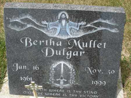 DULGAR, BERTHA MUFFET - Madison County, Ohio | BERTHA MUFFET DULGAR - Ohio Gravestone Photos