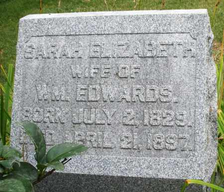 EDWARDS, SARAH ELIZABETH - Madison County, Ohio | SARAH ELIZABETH EDWARDS - Ohio Gravestone Photos