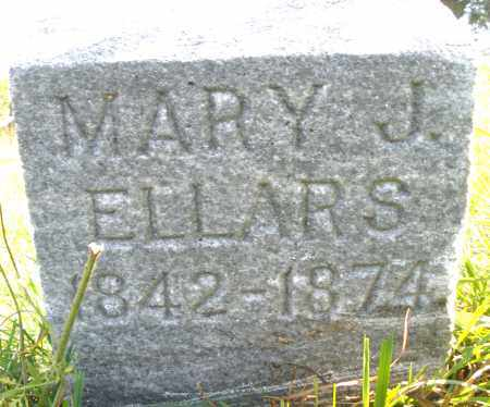 ELLARS, MARY J. - Madison County, Ohio | MARY J. ELLARS - Ohio Gravestone Photos