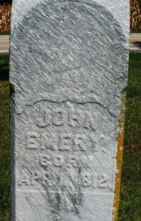 EMERY, JOHN - Madison County, Ohio | JOHN EMERY - Ohio Gravestone Photos