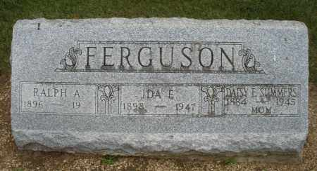 SUMMERS FERGUSON, IDA E. - Madison County, Ohio | IDA E. SUMMERS FERGUSON - Ohio Gravestone Photos