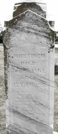 FINCH, JOHN - Madison County, Ohio | JOHN FINCH - Ohio Gravestone Photos