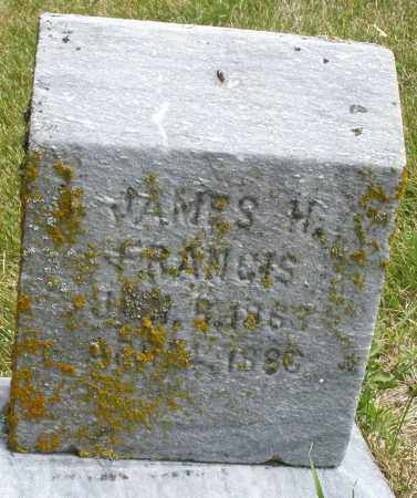 FRANCIS, JAMES H. - Madison County, Ohio | JAMES H. FRANCIS - Ohio Gravestone Photos