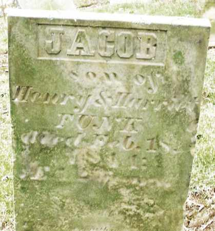 FUNK, JACOB - Madison County, Ohio | JACOB FUNK - Ohio Gravestone Photos