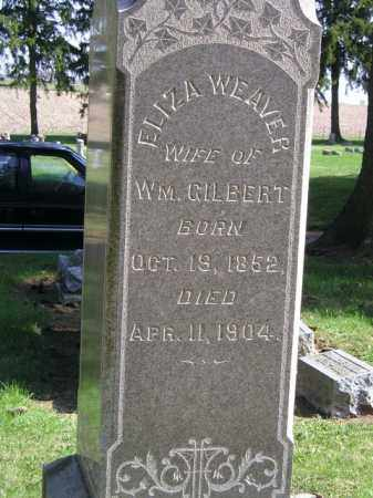 WEAVER GILBERT, ELIZA G. - Madison County, Ohio | ELIZA G. WEAVER GILBERT - Ohio Gravestone Photos