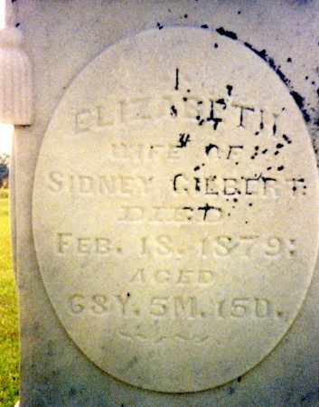 GILBERT, ELIZABETH - Madison County, Ohio | ELIZABETH GILBERT - Ohio Gravestone Photos