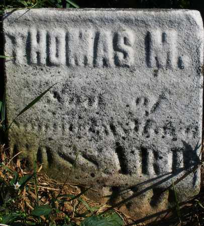 GOSSARD, THOMAS M. - Madison County, Ohio | THOMAS M. GOSSARD - Ohio Gravestone Photos