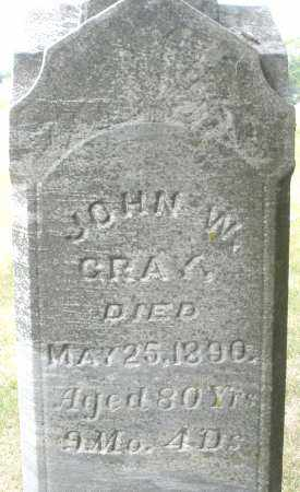 GRAY, JOHN W. - Madison County, Ohio | JOHN W. GRAY - Ohio Gravestone Photos