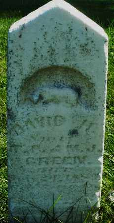 GREEN, DAVID H. - Madison County, Ohio | DAVID H. GREEN - Ohio Gravestone Photos
