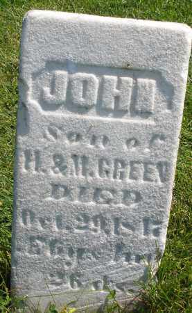 GREEN, JOHN - Madison County, Ohio | JOHN GREEN - Ohio Gravestone Photos