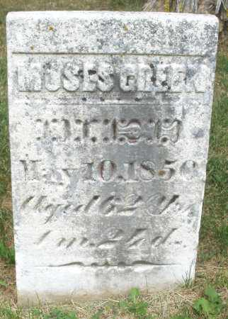 GREEN, MOSES - Madison County, Ohio | MOSES GREEN - Ohio Gravestone Photos