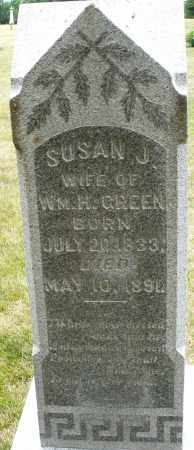 GREEN, SUSAN J. - Madison County, Ohio | SUSAN J. GREEN - Ohio Gravestone Photos